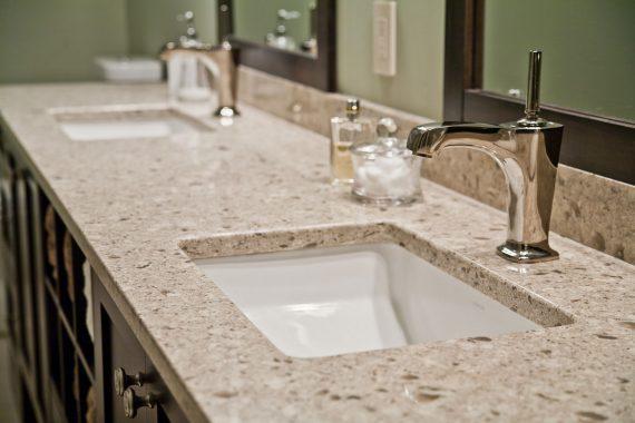 granite bathroom countertops Des Plaines