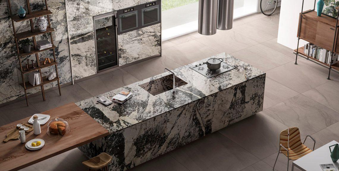 granite kitchen countertops installation